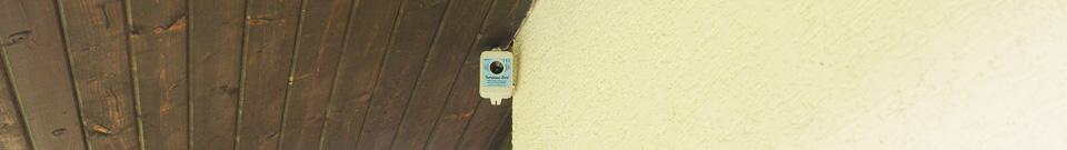 Umístění plašiče-odpuzovače ptáků Deramax-Bird venku-recenze 2