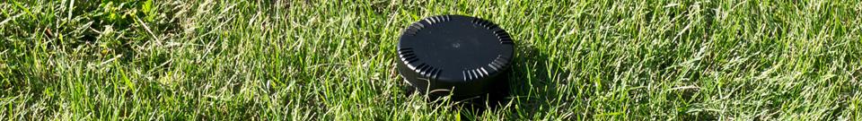 Umístění plašiče-odpuzovače Deramax-Cvrček na zahradě